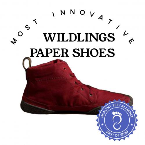 Wildlings Paper Shoes Healthy Feet Alliance Best of 2020